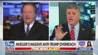 Hannity and panel team up to attack Mueller during episode Trump promoted
