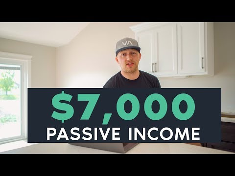 $7,000 in Passive Income | How to Build a Website That Makes Money