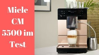 Miele CM 5500 Kaffeevollautomat im Test