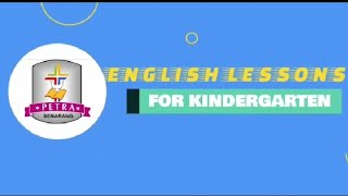 English Lessons for Kindergarten