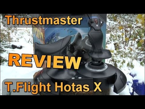 Review: Thrustmaster T-Flight Hotas X / Joystick mit Schubregler für PC/PS3/PS4