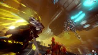 Warframe - Test out Wukong nuke build with arcane jupitor io 10 wave clear 5+ minutes