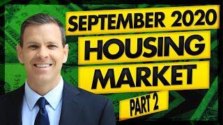 Real Estate Market & Housing Market Update: 9/8/20