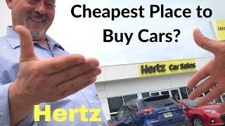 Is Hertz a Cheapest Place to Buy Cars in U.S.?
