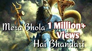 Mera Bhola Hai Bhandari WhatsApp Status Song