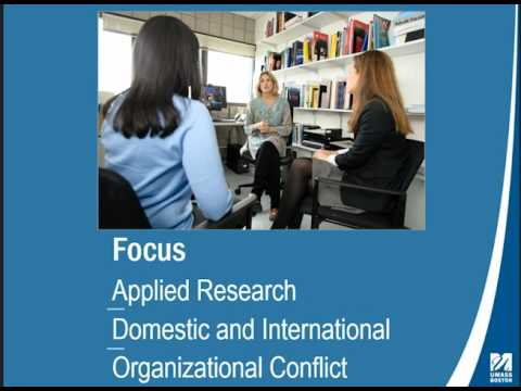 Conflict Resolution Virtual Online Info Session
