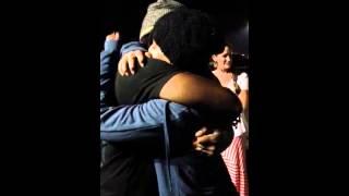 Hugging Boyd Tinsley