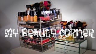 My Makeup Collection 2013 | Clear Cube Makeup Storage