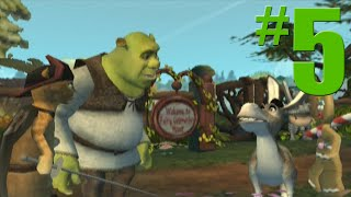 Shrek 2: Game Walkthrough Part 5 - Walking the Path - No Commentary Gameplay (Gamecube/Xbox/PS2)