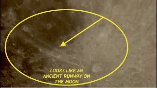Crazy Zoom 4K HDTV of Moon - Looking For UFO