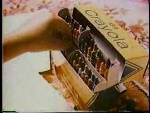 CLASSIC TV COMMERCIAL - 1960s - CRAYOLA CRAYONS #4 Mp3