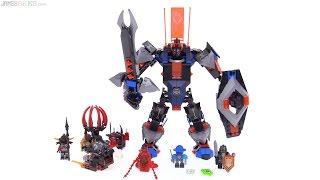 LEGO Nexo Knights Black Knight Mech review! 70326