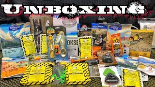 Massive Unboxing Camping & Survival Gear | Awesome Giveaway