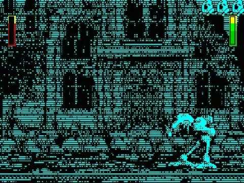 Walker game (demo) running on ZX Spectrum