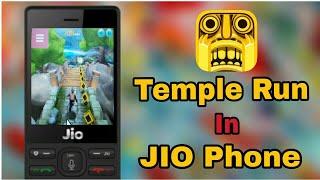 Jio Phone Me Temple Run 2 Game Kaise Khele || How To Play