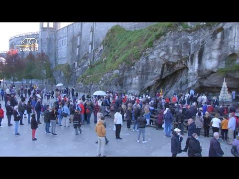 Messe de 10h à Lourdes du 11 octobre 2021