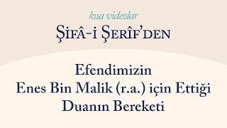Kısa Video: Efendimizin Enes Bin Malik için Ettiği Duanın Bereketi