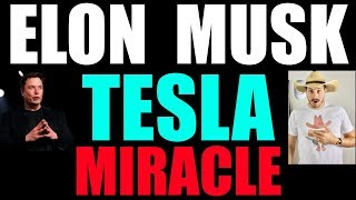 Elon Musk Just Pulled  A Miracle For Tesla! No One Is Talking About It!