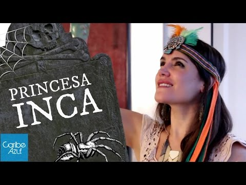 Disfraz de Princesa INCA - Ñusta moderna - Mafe Ampuero - Caribe Azul
