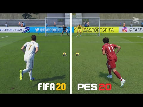 FIFA 20 vs PES 20 ⁞ Penalty Kicks - Which one is better?