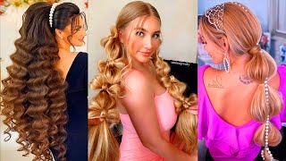 10  Braided Hairstyle Personalities For Long Hair Girls 👍 Transformation Hairstyle Tutorial
