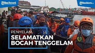 Penyelam Temukan Bocah Tenggelam di Pantai Bahtera Jaya dalam Kondisi Tak Bernyawa