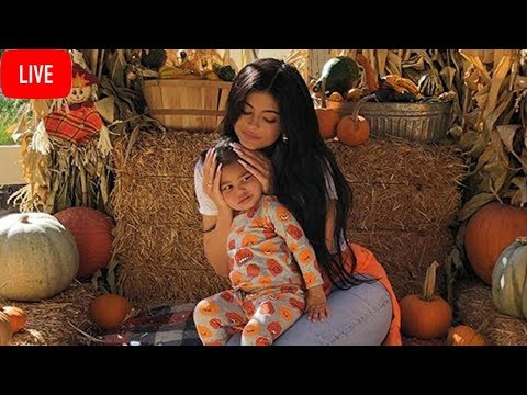 Kylie Jenner & Travis Scott REUNITE To take Baby Stormi To Pumpkin Patch!  The Morning Tea Live!