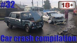 Car crash compilation Dash cam accidents Подборка Аварий и Дтп #32