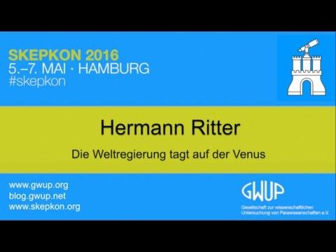 Die Weltregierung tagt auf der Venus (Hermann Ritter)