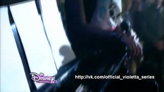 """Клип из сериала """"Виолетта"""" - A mi lado"""