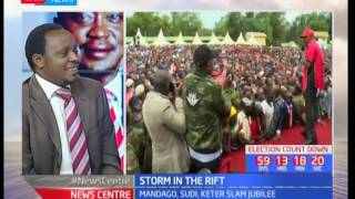 News Centre: Storm in the Rift - Mandago and Sudi slam Jubilee