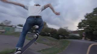 """Skating pump track with 3"""" cinewhoop with naked gopro"""