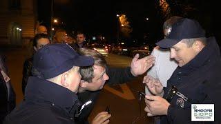 Во Львове бесчинствует патрульная полиция.