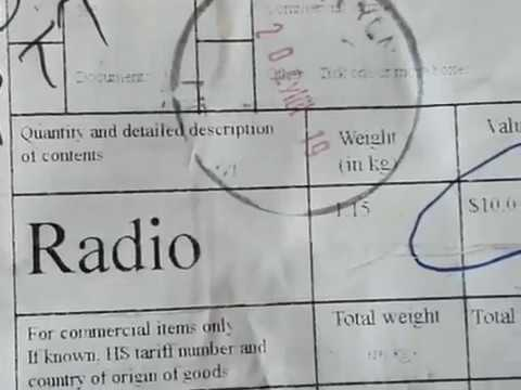 AliExpres'ten Gelen Radyolar Üzerindeki Fiyata Göre de Vergilendiriliyor