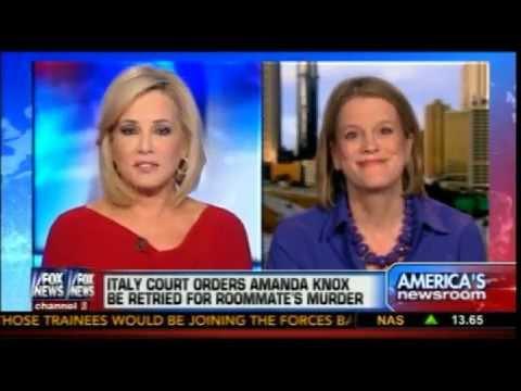 Meg Strickler on Fox News discussing #amandaknox #in