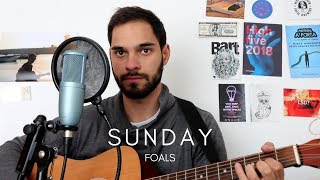 "Foals - ""Sunday"" acoustic cover (Marc Rodrigues)"