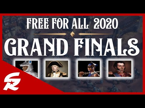 2020 Free For All GRAND FINALS Commentary! | Age of Empires III