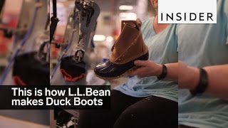 This Is How Those Famous L.L. Bean Duck Boots Are Made