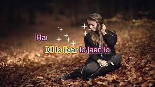 Tumse accha kaun hai-Jaanwar-Karaoke highlighted lyrics