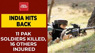 At Least 11 Pakistan Soldiers Killed, 16 Others Injured In Retaliation To Ceasefire Violation - Download this Video in MP3, M4A, WEBM, MP4, 3GP