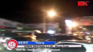 Gempa 78 SR Guncang Mentawai   Warga Padang Panik
