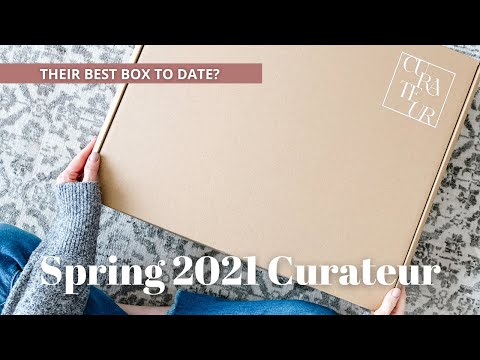 Curateur Unboxing Spring 2021