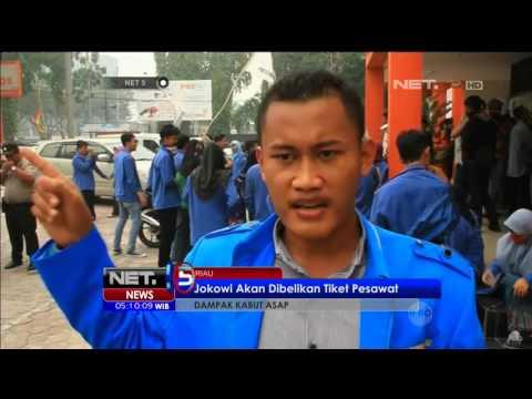 Mahasiswa Meminta Jokowi Datang ke Pekanbaru - NET5