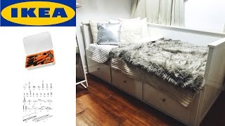 IKEA HEMNES Daybed Assembly