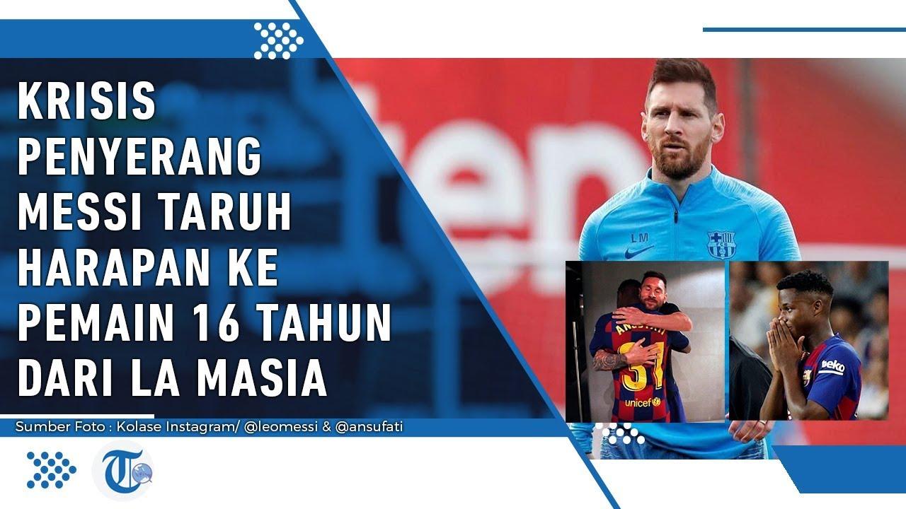 Lionel Messi Taruh Harapan Besar pada Dua Pemain Muda ...