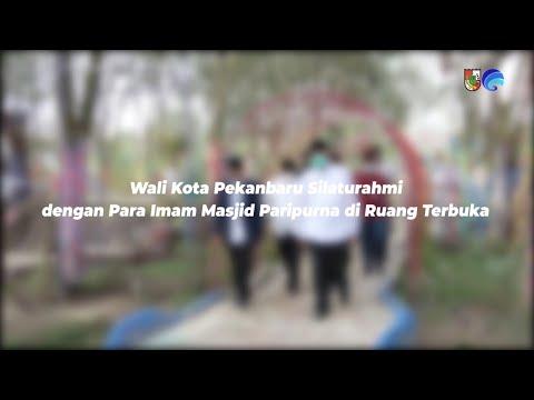 Wali Kota Pekanbaru Silaturahmi dengan Para Imam Masjid Paripurna di Ruang Terbuka