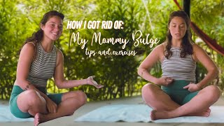 HOW I GOT RID OF MY MOMMY BULGE: My Tips and Favorite Exercises for Ab Separation/Diastasis Recti