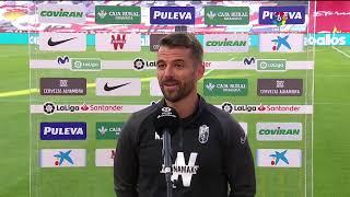 Calentamiento Granada CF vs SD Eibar