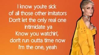 Halsey - I'm The One / Lyrics | DJ Khaled Ft. Justin Bieber