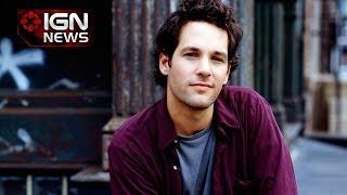 IGN News - Marvel Confirms Paul Rudd for Ant-Man